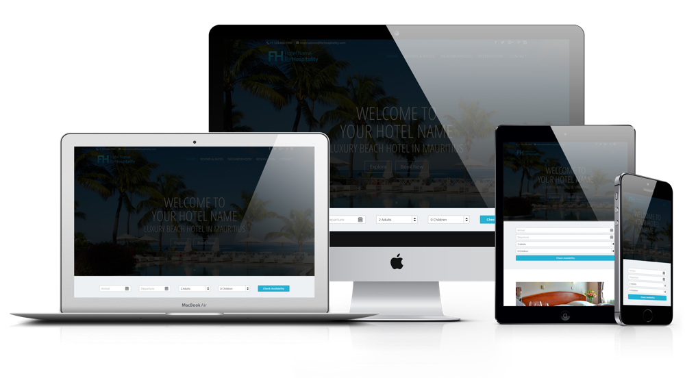 Optimized Website for Bookings - ForHospitality.com