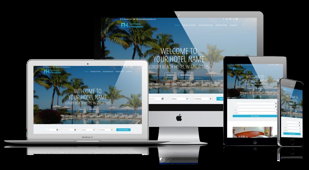 Responsive Hotel Webdesign - ForHospitality.com